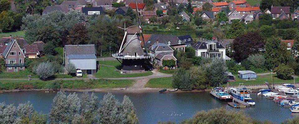 Veessen gezien vanaf Steenfabriek Fortmond